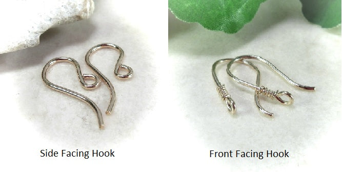 ear wire hook options for jewelry making