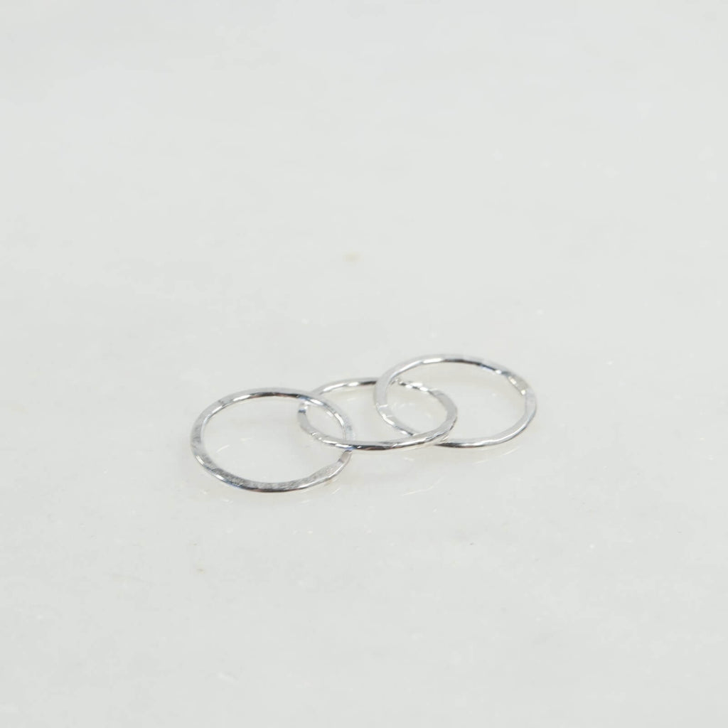 triple silver links 6mm