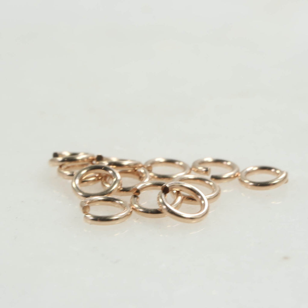 gold jump rings 18 gauge