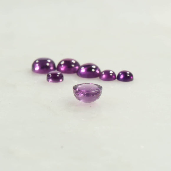 amethyst cabohcons