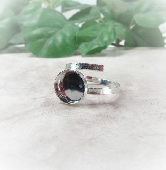 Bezel Cup Setting Sterling Silver 6, 8 and 10mm Cups