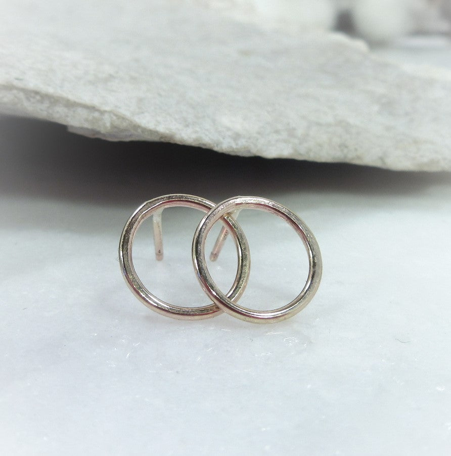 circle post earrings for jewelry making