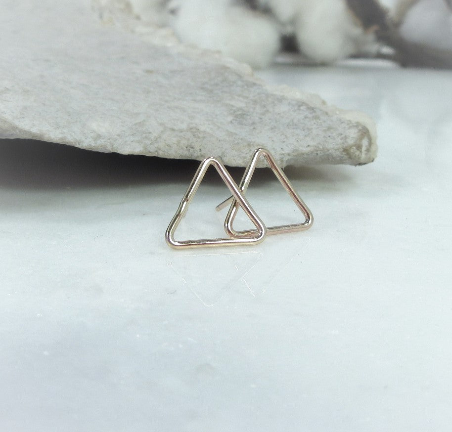 triangle earring settings for jewelry making