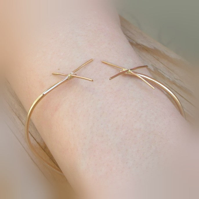 Claw Bracelet Blank Single Prong Setting