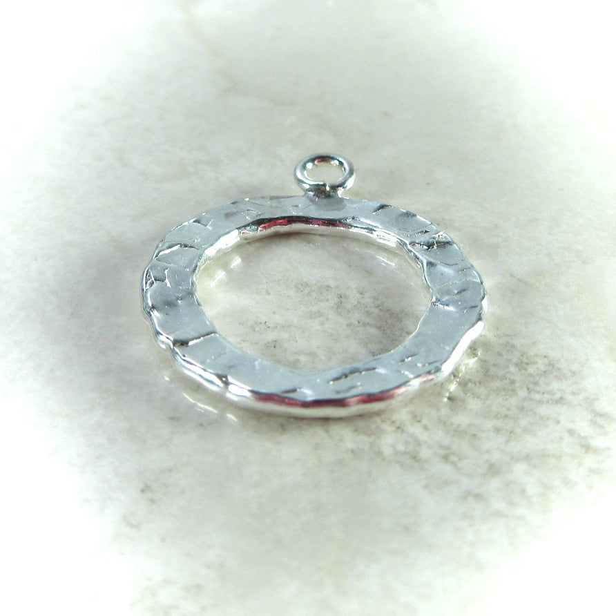 silver jewlry washer