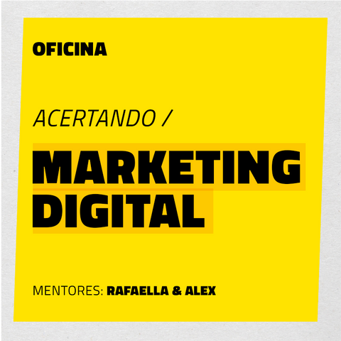 Acertando o Marketing Digital