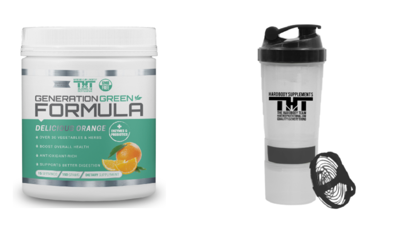 Superfood and shaker pack - hardbodynutritional.com