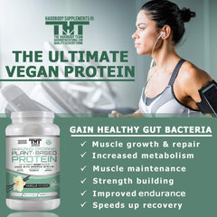 Amazing Vegan Plant Based Protein Powder - hardbodynutritional.com