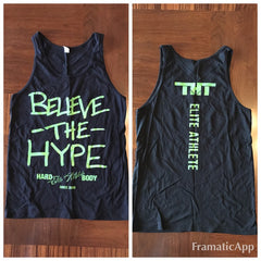 Believe The Hype Tank - hardbodynutritional.com