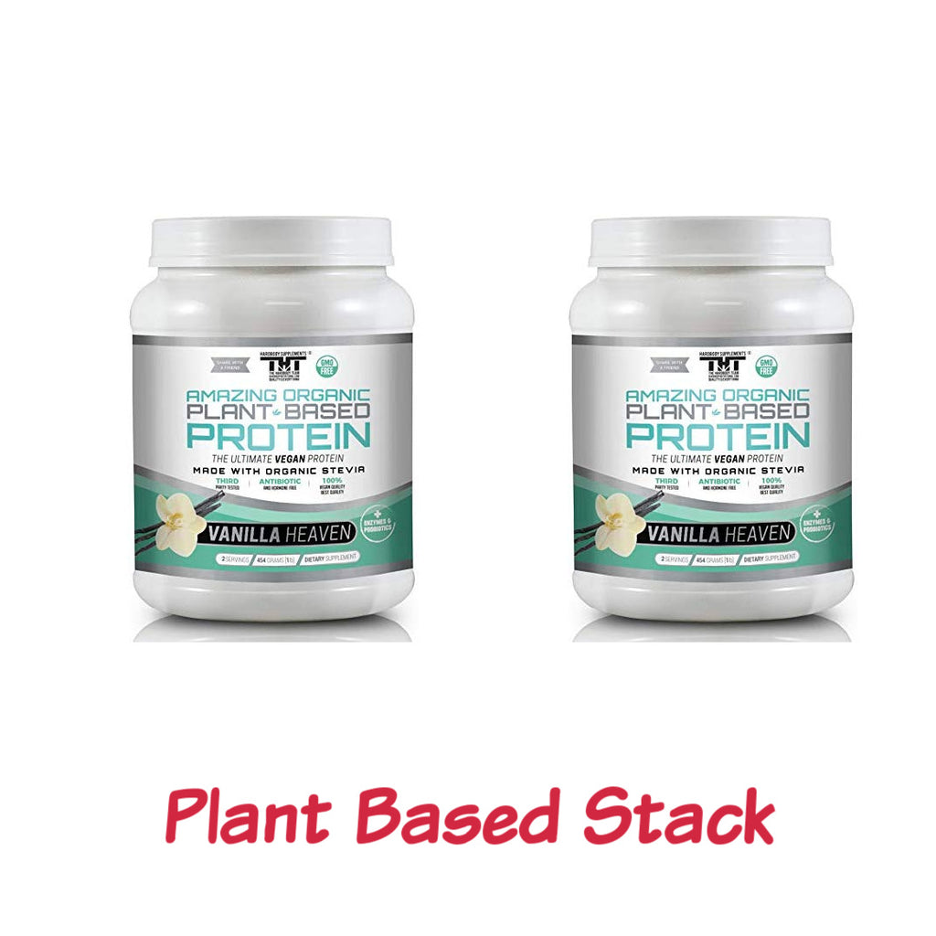 Plant Based Stack Pack (Vanilla)(2 Ser) - hardbodynutritional.com