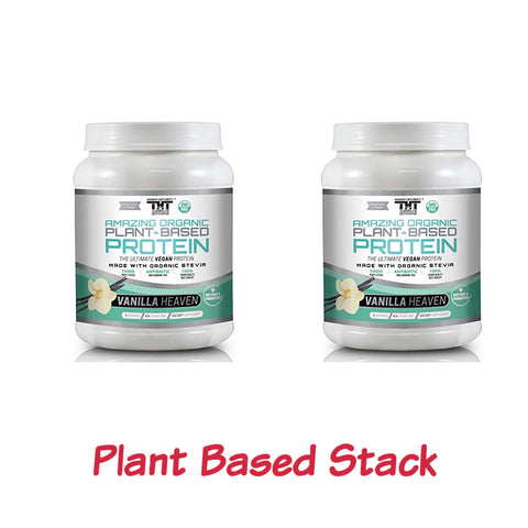 Plant Based Stack Pack (Vanilla) - hardbodynutritional.com