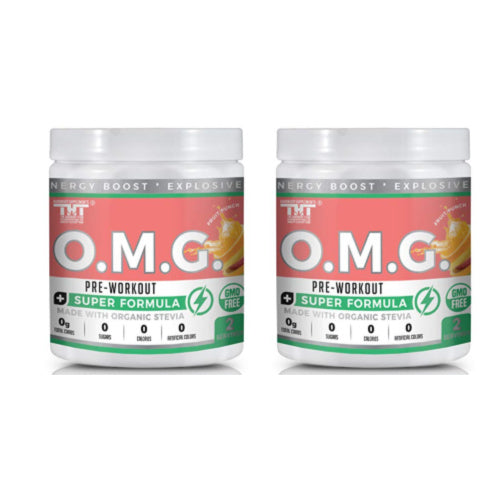 OMG Stack Pack (Fruit Punch)(2 Ser) - hardbodynutritional.com