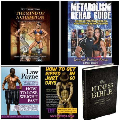 5 Book Bundle (Save $229) - hardbodynutritional.com