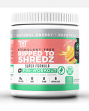 Ripped to Shredz Stimulant and Caffeine Free Preworkout for Men and Women with No Creatine | Electrolytes and Organic Stevia for Clean Energy