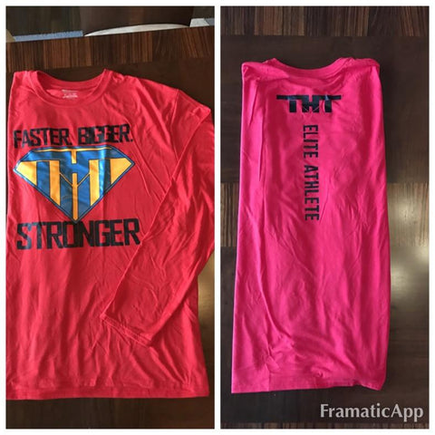 FASTER.BIGGER.STRONGER Long Sleeve T - hardbodynutritional.com