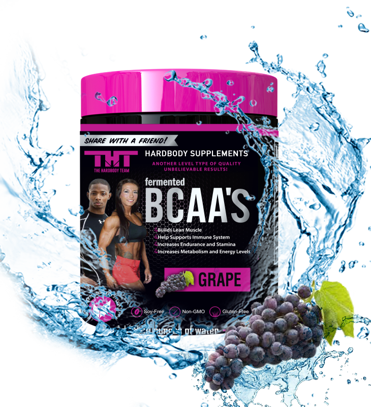 fermented BCAA'S Sweetened W/Organic Stevia Leaf Extract