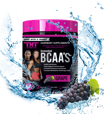 fermented BCAA'S Sweetened W/Stevia Leaf Extract