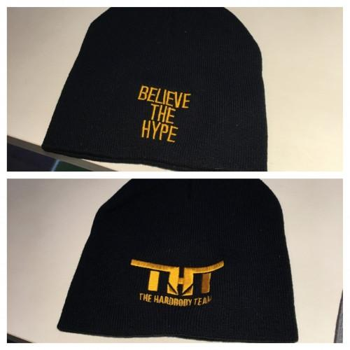 THT Beenie-Black and Gold