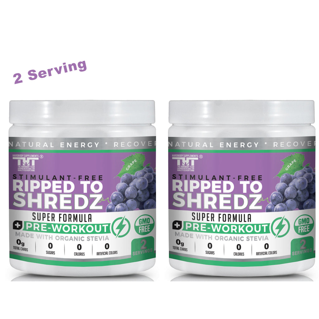 Ripped to Shredz Stack Pack (Grape)(2 Ser) - hardbodynutritional.com