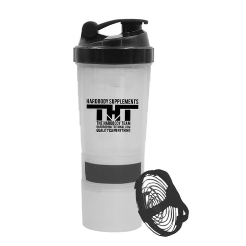 ALL IN ONE THT Blender Bottle/Shaker - hardbodynutritional.com