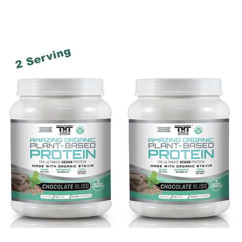 Plant Based Stack Pack Chocolate(2 Ser) - hardbodynutritional.com