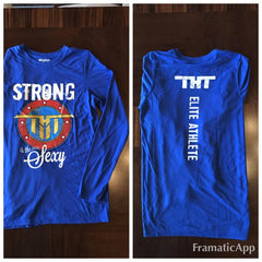 Strong Is The New Sexy Long Sleeve T - hardbodynutritional.com