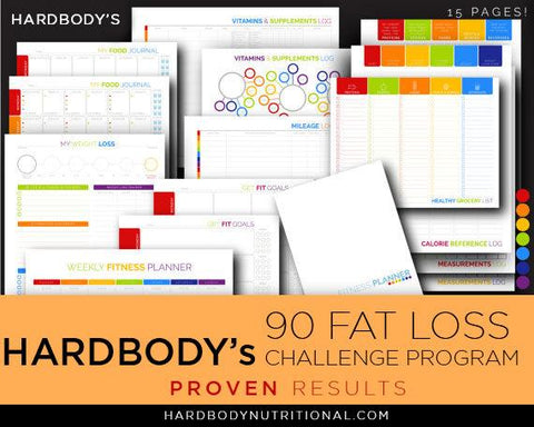 Hardbody's 90 Day Fat Loss CHALLENGE (April. 25-July 21)