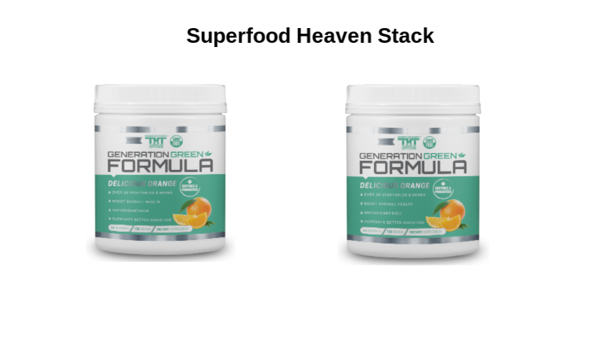 Superfood Heaven Stack (Orange) - hardbodynutritional.com