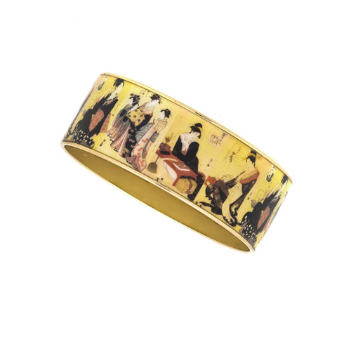 MAYA Edo Courtesans Bangle Bracelets 1""