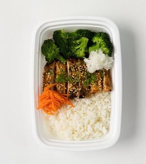 Miso Glazed Chicken Rice Bowl