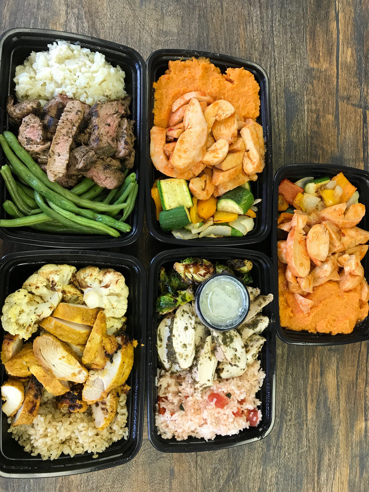 5 Meals 6oz Protein Build-a-Box