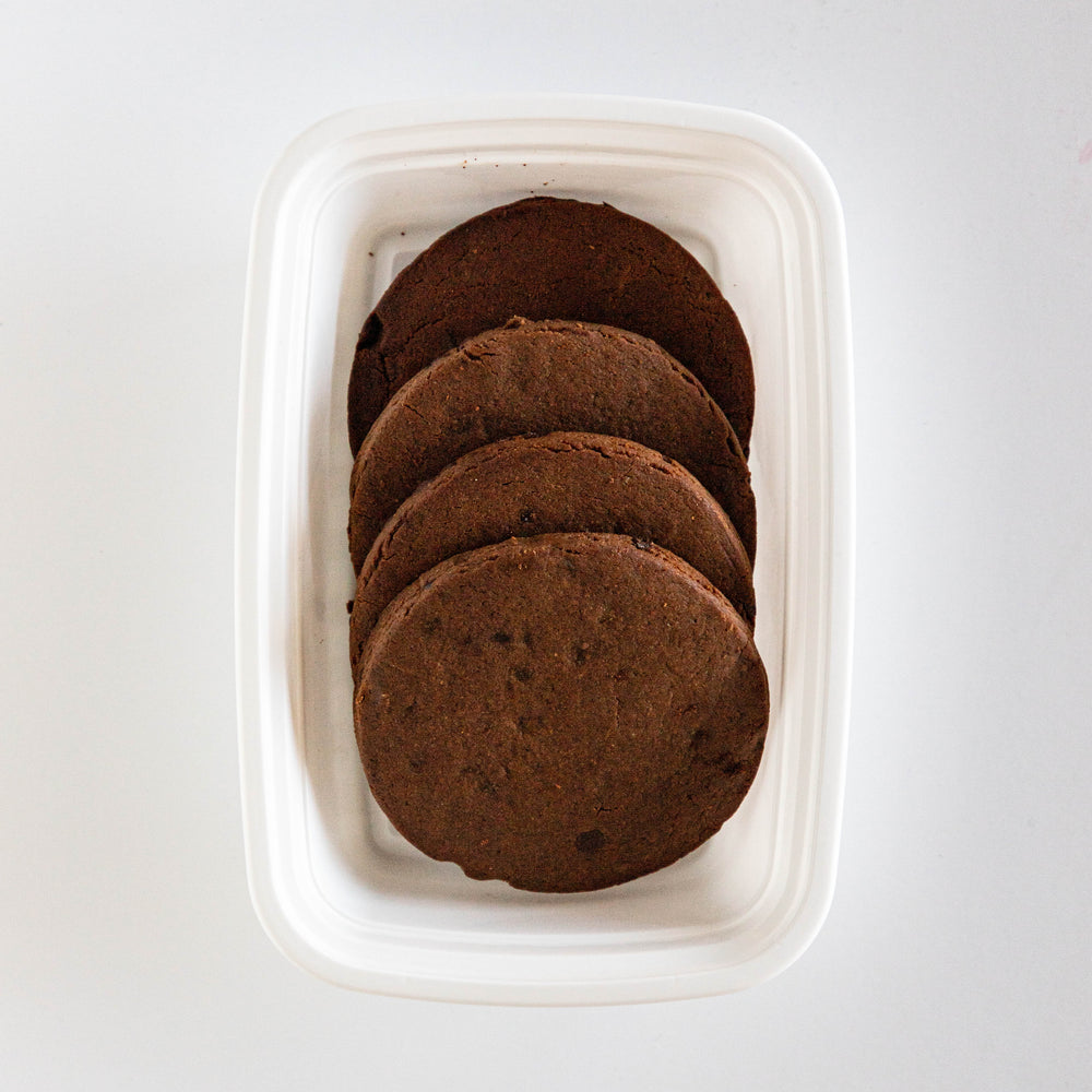 Peanut Butter Chocolate Protein Cookies