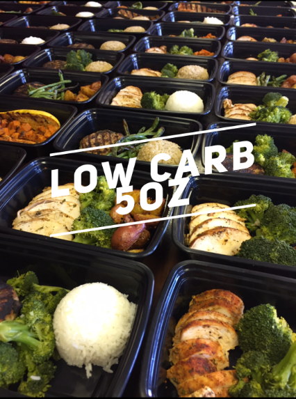 Low Carb 5oz Meal Plan