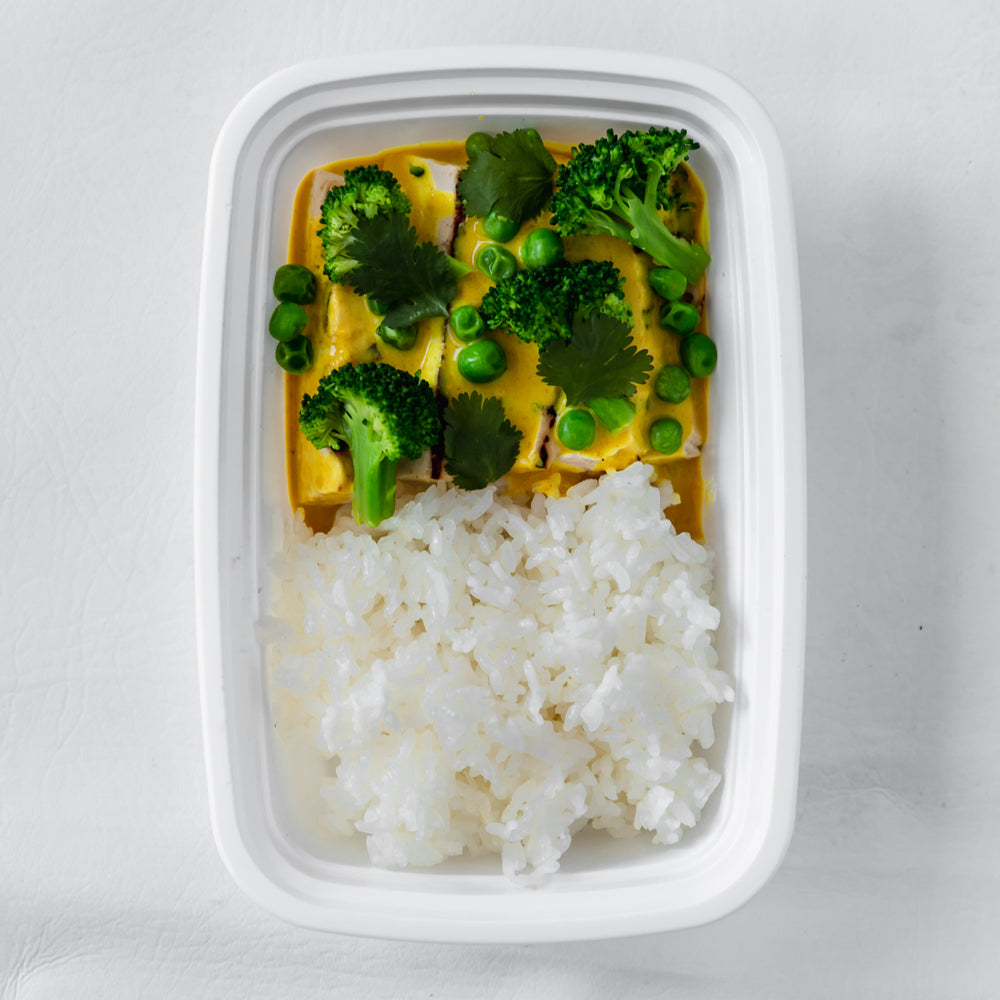 Vegetarian Thai Yellow Curry