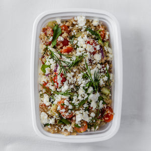 Vegetarian Greek Power Salad
