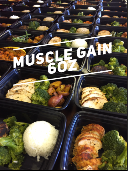 Muscle Gain 6oz Meal Plan