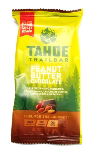Tahoe Trail Bar- Peanut Butter Chocolate