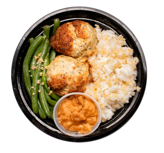 Turkey Sesame Meatballs