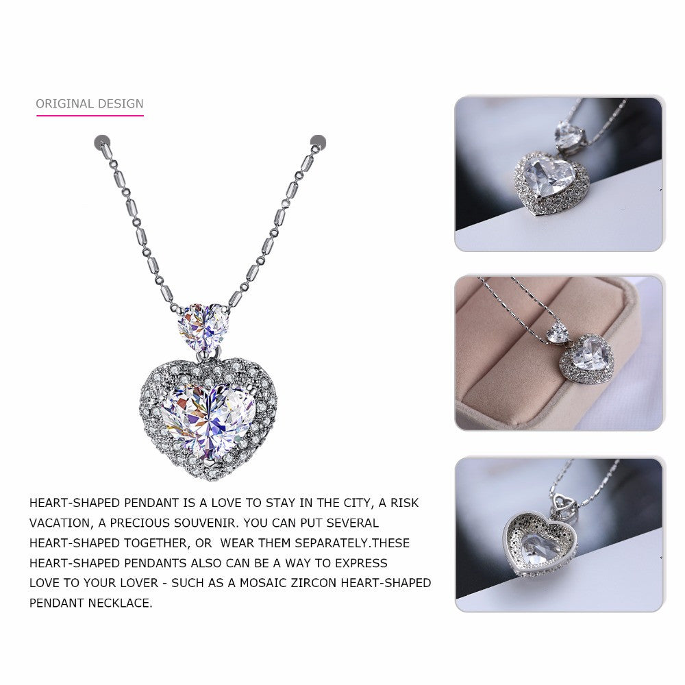 zirconia product gold jewelry if cubic crystal choker image name heart letters products romantic charms pendant love necklace me women color letter