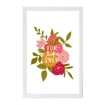 Valentine Art Board Alexa For Like Ever Non-Magnetic