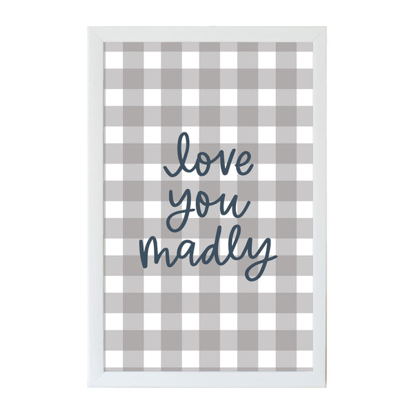 Alexa Love you Madly Magnet Board