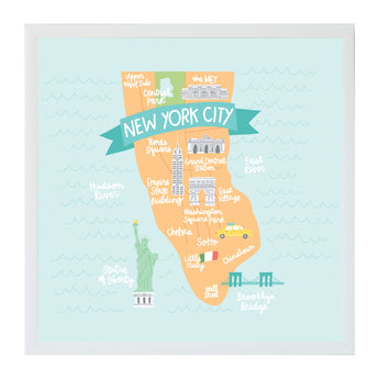 New Alexa Destinations New York City Map