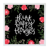 Petal Lane Alexa Think Happy Thoughts Magnet Boards Eclectic and Modern Apartment Decor