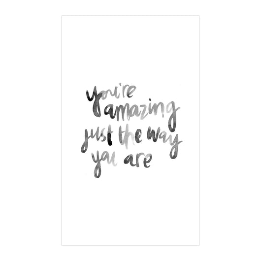 Petal Lane Home Canvas Magnet Watercolor You are Amazing perfect for Fridge or Magnet Board