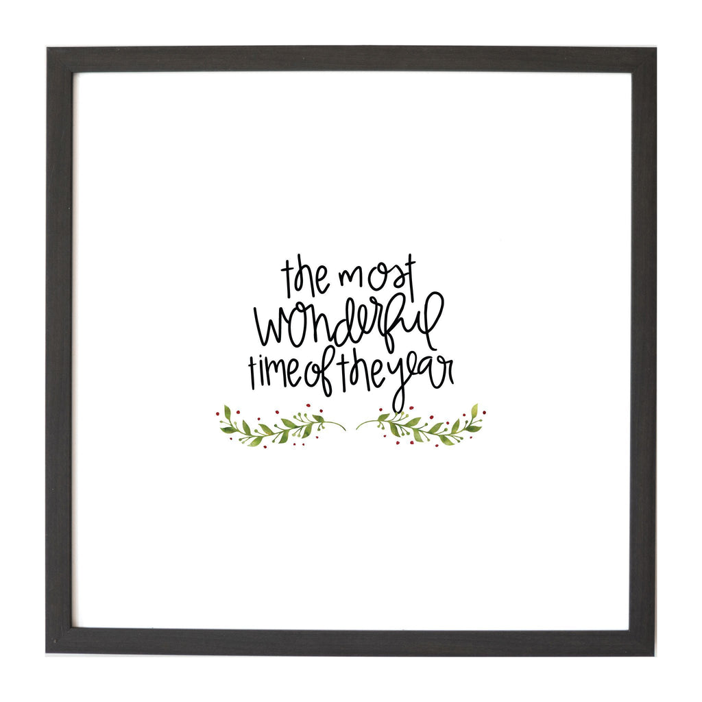 Christmas Seasonal The Most Wonderful Time Magnet Board