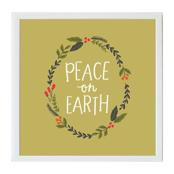 Christmas Seasonal Peace on Earth