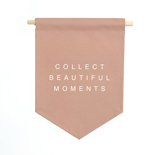 bannerlove Collect Beautiful Moments Hanging Banner