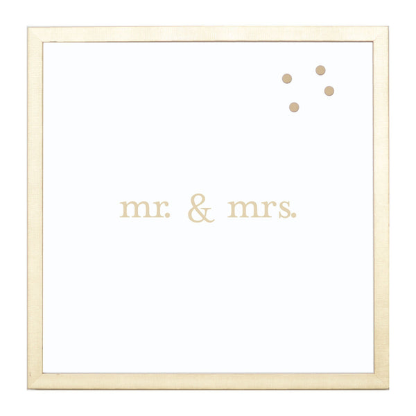 Gold Mr. & Mrs.