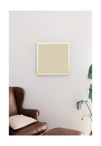 Petal Lane Home Gold Funky Lines Magnet Board