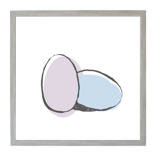 Petal Lane Home purple and Blue Easter Eggs Magnet Board